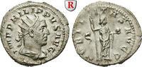 Antoninian 247  Philippus I., 244-249 vz-st, ausdrucksstarkes Portrait  140,00 EUR  zzgl. 6,50 EUR Versand