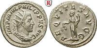 Antoninian 244-247  Philippus I., 244-249 st, Rs. min. Stempelfehler  175,00 EUR  zzgl. 6,50 EUR Versand