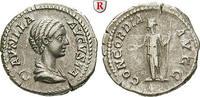 Denar 202-205  Plautilla, Frau des Caracalla, +211 ss+, kl. Schrötlings... 150,00 EUR  zzgl. 6,50 EUR Versand
