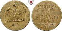 Passiergewicht für 2 Friedrich d`or 1820 Brandenburg-Preussen Königreic... 150,00 EUR inkl. gesetzl. MwSt., zzgl. 6,50 EUR Versand