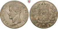 5 Francs 1824 Frankreich Charles X., 1824-1830 f.ss, kl. Rdf.  320,00 EUR