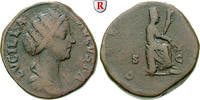 Sesterz nach 164  Lucilla, Frau des Lucius Verus, 147-183 f.ss  200,00 EUR  zzgl. 6,50 EUR Versand