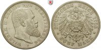 Württemberg 5 Mark Wilhelm II., 1891-1918, 5 Mark 1903, F. J.176.