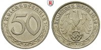 Klein- und Kursmnzen 50 Reichspfennig 50 Reichspfennig 1938, B, Ni. J.365.
