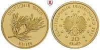 20 Euro 2013 A Gedenkprägungen 20 Euro 2013, A. Der Deutsche Wald, Kief... 220,00 EUR  zzgl. 6,50 EUR Versand