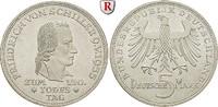 5 DM 1955 F Gedenkprägungen 5 DM 1955, F. Schiller. J.389. vz-st  445,00 EUR  zzgl. 6,50 EUR Versand