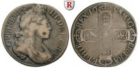 Grossbritannien Shilling 1698 s William III., 1694-1702 80,00 EUR