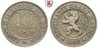 10 Centimes 1895 Belgien Königreich, Leopold II., 1865-1909 vz/st  20,00 EUR  zzgl. 6,50 EUR Versand