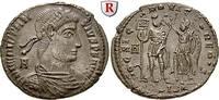 Bronze 350  Constantius II., 337-361 vz-st, kl. Schrötlingsfehler, Stem... 190,00 EUR  zzgl. 6,50 EUR Versand