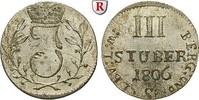 3 Stüber 1806 Jülich-Kleve-Berg Großherzogtum Berg, Joachim Murat, 1806... 120,00 EUR inkl. gesetzl. MwSt., zzgl. 6,50 EUR Versand