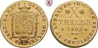 10 Taler 1805 Braunschweig Braunschweig-Wolfenbüttel, Karl Wilhelm Ferd... 3850,00 EUR kostenloser Versand