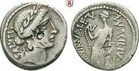 Denar 49 v.Chr.  Man. Acilius Glabrio, 49 v.Chr. ss, Bankmarken  170,00 EUR  zzgl. 6,50 EUR Versand