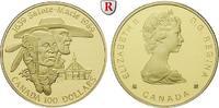 100 Dollars 1989 Kanada Elizabeth II., seit 1952, Gold, 13,34 g PP  350,00 EUR  zzgl. 6,50 EUR Versand