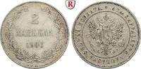 2 Markkaa 1906 Finnland Unter russischer Herrschaft, Nikolaus II., 1894... 60,00 EUR  zzgl. 6,50 EUR Versand