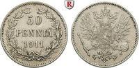 50 Penniä 1911 Finnland Unter russischer Herrschaft, Nikolaus II., 1894... 40,00 EUR  zzgl. 6,50 EUR Versand