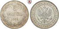 2 Markkaa 1908 Finnland Unter russischer Herrschaft, Nikolaus II., 1894... 60,00 EUR  zzgl. 6,50 EUR Versand