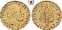 20 Mark 1874 B Preussen Wilhelm I., 1861-1888, 20 Mark 1874, B. Gold. J... 350,00 EUR  zzgl. 6,50 EUR Versand