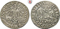 Halbgroschen 1550 Polen Sigismund August, 1548-1572 ss+  75,00 EUR  zzgl. 6,50 EUR Versand