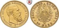 20 Mark 1888 A Preussen Friedrich III., 18...