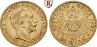 20 Mark 1893 A Preussen Wilhelm II., 1888-1918, 20 Mark 1893, A. Gold. ... 315,00 EUR  zzgl. 6,50 EUR Versand