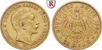 20 Mark 1894 A Preussen Wilhelm II., 1888-1918, 20 Mark 1894, A. Gold. ... 315,00 EUR  zzgl. 6,50 EUR Versand
