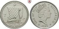 1/10 Noble 1985 Insel Man Elizabeth II., seit 1952 st  150,00 EUR  zzgl. 6,50 EUR Versand