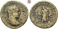 Sesterz 215  Caracalla, 198-217 f.ss, raue Oberfläche  230,00 EUR  zzgl. 6,50 EUR Versand