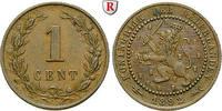 Cent 1892 Niederlande Königreich, Wilhelmina I., 1890-1948 ss  10,00 EUR  zzgl. 6,50 EUR Versand