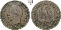 5 Centimes 1853 Frankreich Napoleon III., 1852-1870 f.ss  40,00 EUR  zzgl. 6,50 EUR Versand