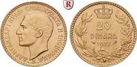 20 Dinara 1925 Jugoslawien Alexander I., 1921-1934, Gold, 6,45 g f.st  425,00 EUR  zzgl. 6,50 EUR Versand