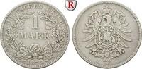 1 Mark 1873 B Klein- und Kursmünzen 1 Mark 1873, B. J.9. ss  28,00 EUR  zzgl. 6,50 EUR Versand