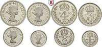 Maundy-Satz 1992 Grossbritannien Elizabeth II., seit 1952 PP  210,00 EUR  zzgl. 6,50 EUR Versand