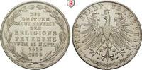 Doppelgulden 1855 Frankfurt, Stadt  f.vz, berieben  140,00 EUR  zzgl. 6,50 EUR Versand