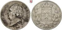 5 Francs 1824 Frankreich Louis XVIII., 1814-1824 ss  65,00 EUR55,25 EUR  zzgl. 6,50 EUR Versand
