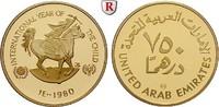 750 Dirhams 1980 Vereinte Arabische Emirate 17,17 g PP  650,00 EUR  plus 10,00 EUR verzending
