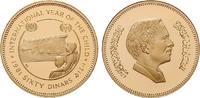 60 Dinars 1981 Jordanien Hussein, 1952-1999, Gold, 17,17 g PP  620,00 EUR  zzgl. 6,50 EUR Versand