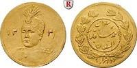 1/5 Toman 1922 Iran Sultan Ahmad Shah, 1909-1925, Gold, 0,575 g ss-vz, ... 100,00 EUR  plus 10,00 EUR verzending