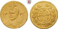 1/5 Toman 1922 Iran Sultan Ahmad Shah, 1909-1925, Gold, 0,575 g ss-vz, ... 100,00 EUR  zzgl. 6,50 EUR Versand