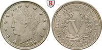 5 Cents 1898 USA  vz-st  100,00 EUR  zzgl. 6,50 EUR Versand