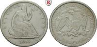 1/2 Dollar 1876 USA  ss  50,00 EUR  zzgl. 6,50 EUR Versand