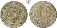 3 Cents 1851 USA  ss  55,00 EUR  zzgl. 6,50 EUR Versand