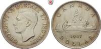Dollar 1937 Kanada George VI., 1936-1952 f.vz, kl. Rdf.  30,00 EUR  zzgl. 6,50 EUR Versand