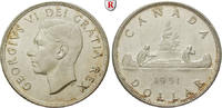 Dollar 1951 Kanada George VI., 1936-1952 f.vz  45,00 EUR  zzgl. 6,50 EUR Versand