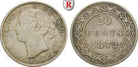 20 Cents 1872 Kanada Neufundland, Victoria, 1837-1901 ss  30,00 EUR  zzgl. 6,50 EUR Versand