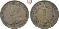 Cent 1926 Britisch-Honduras George V., 1910-1936 vz  30,00 EUR  zzgl. 6,50 EUR Versand