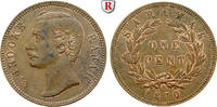 Cent 1870 Sarawak Charles J. Brooke, 1868-1917 vz, Vs. l. fleckig  100,00 EUR  zzgl. 6,50 EUR Versand