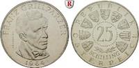 25 Schilling 1964 Österreich 2. Republik, seit 1945 PP, berührt  170,00 EUR  zzgl. 6,50 EUR Versand