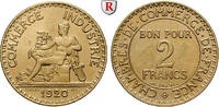 2 Francs 1920 Frankreich III. Republik, 1871-1940 st, Kratzer auf Rücks... 300,00 EUR  zzgl. 6,50 EUR Versand