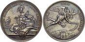 Medaille  Medaillen von Dan.Fried. Loos und seines Ateliers  Schöne Patina, selten, fast Stempelglanz