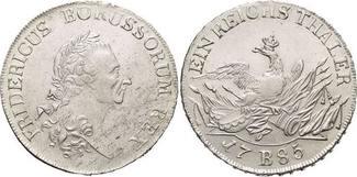 Brandenburg-Preussen Taler 1785 B Min.Sf.,...